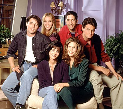 cast of first season of the TV show Friends