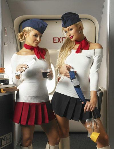 airline stewardessses