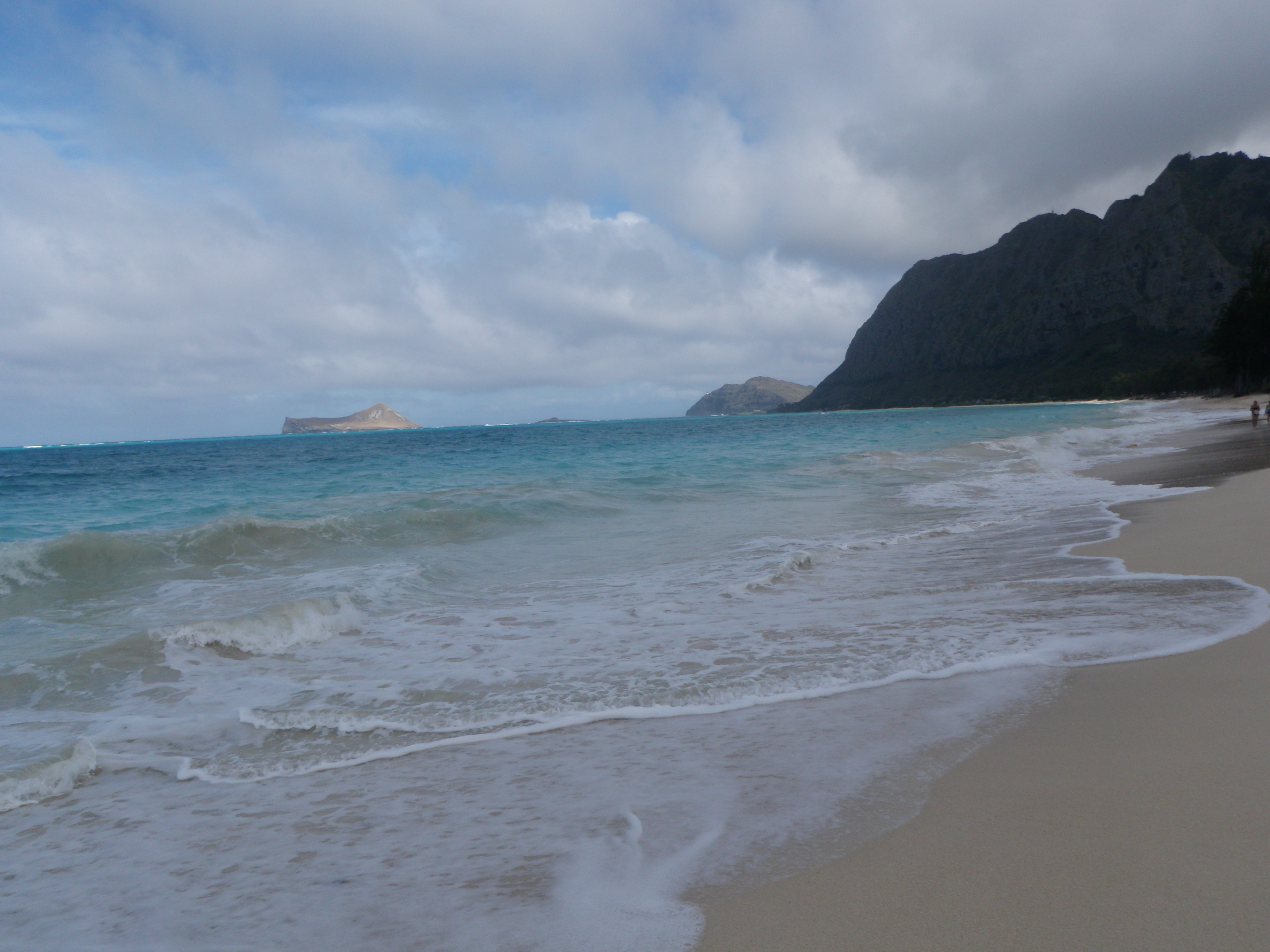 Six days in hawaii taken by the wind for Waimanalo feed