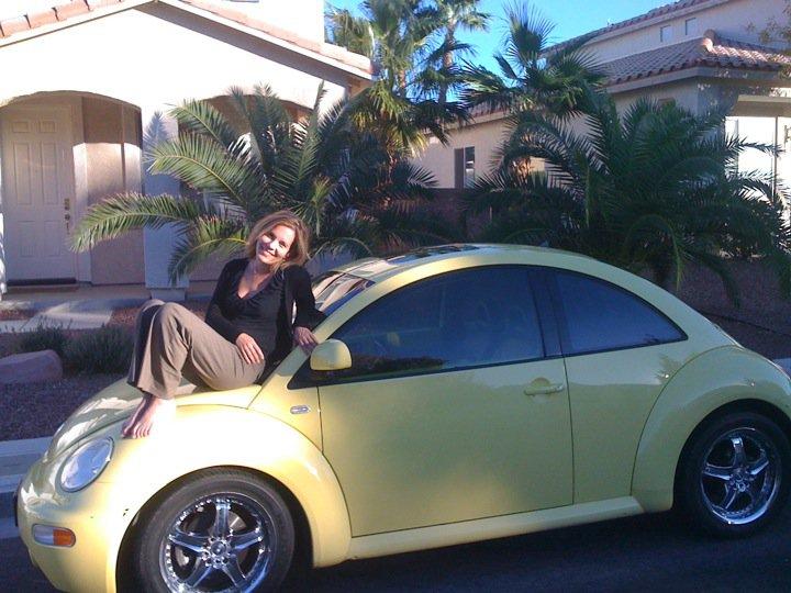 Me and my VW Bug