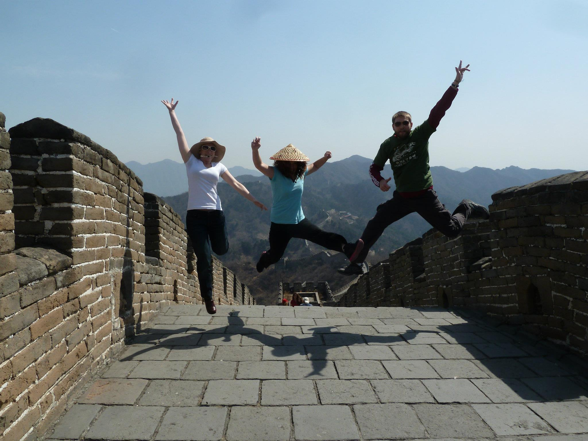 Me, My Cousin Anderson and his wife Liz, on the Great Wall