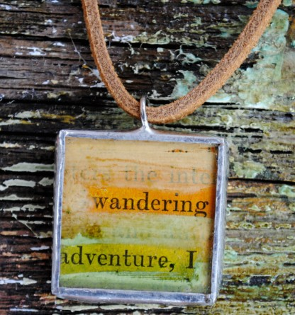 wandering adventure necklace
