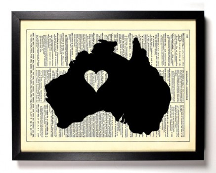 Index of wp contentuploads201205 australia map heart dictionary print 437x350g gumiabroncs Gallery