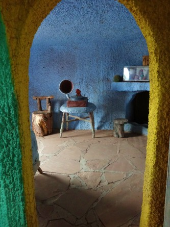 fred and wilma flintstone house in bedrock city arizona