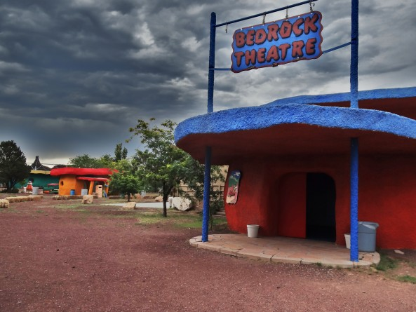 theatre at bedrock city in arizona