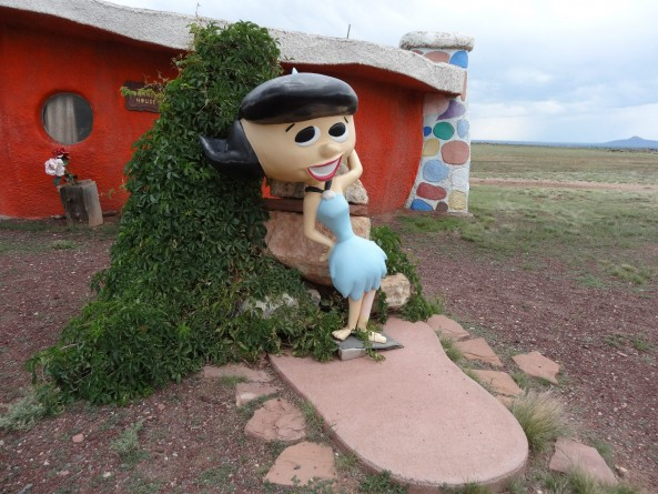 betty flinstones bedrock city arizona