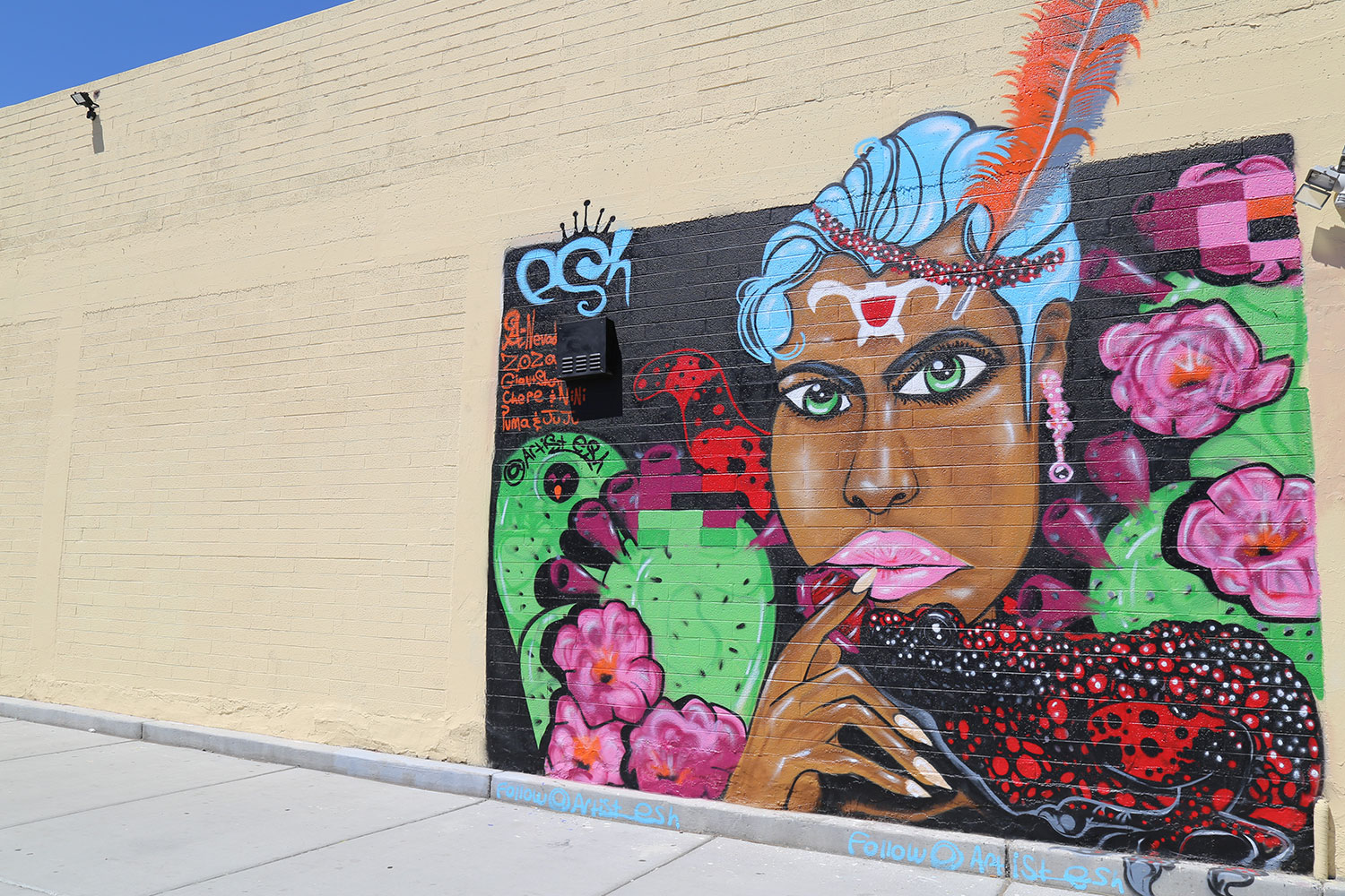 art in downtown Las Vegas
