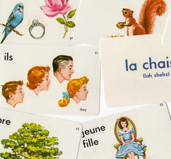 french language flashcards