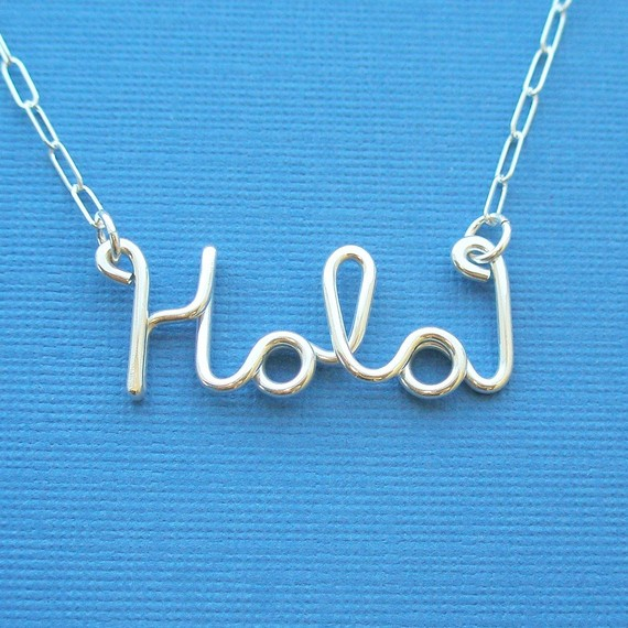 hola necklace