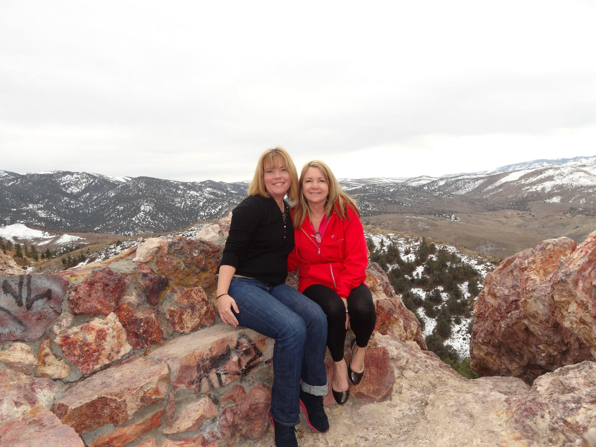 Mountain view in Reno