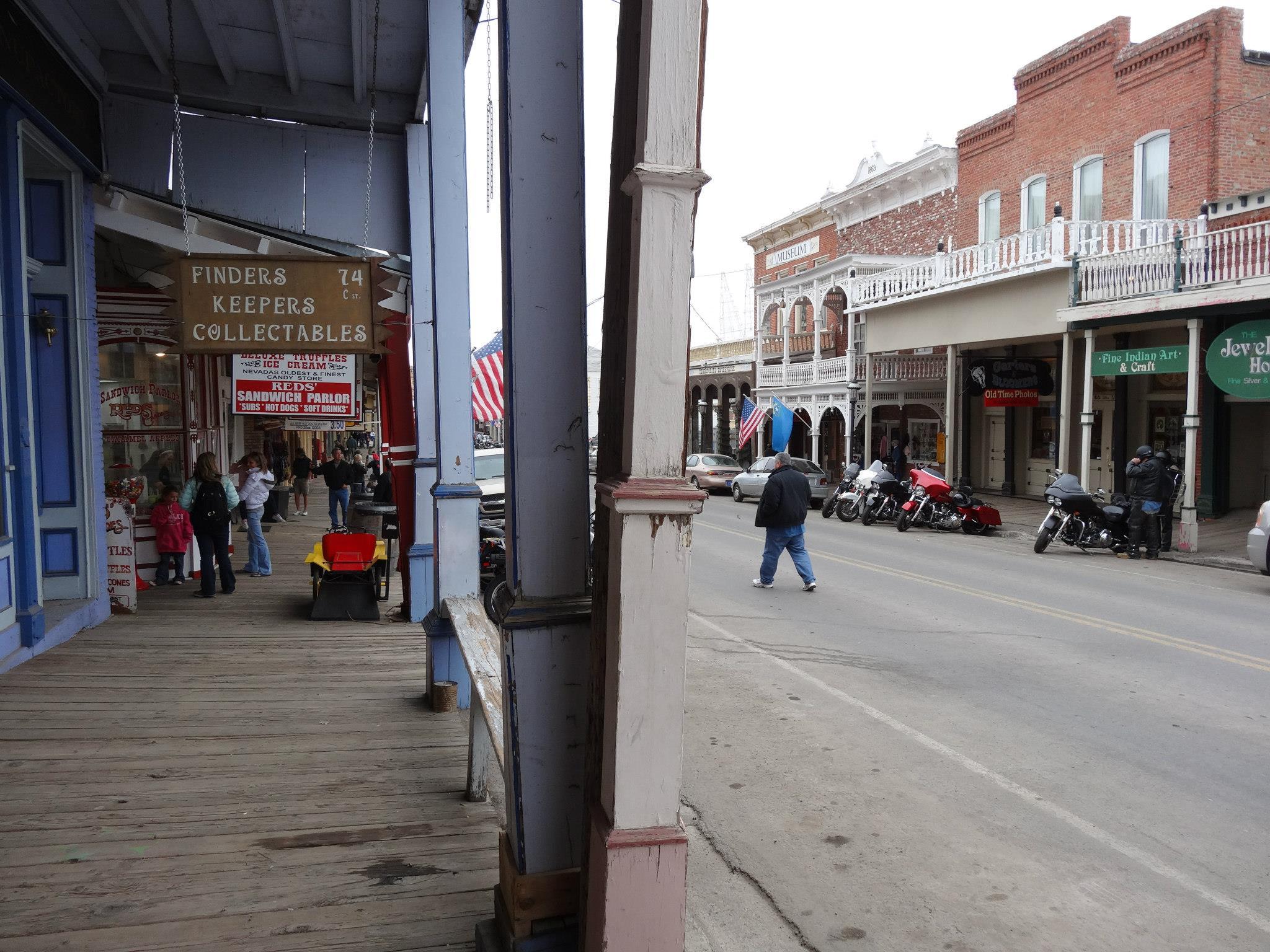 Virginia City scene