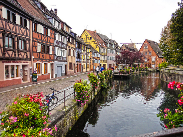 Colmar, France river