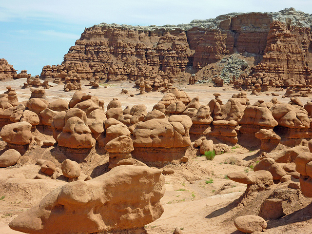rocks in goblin valley