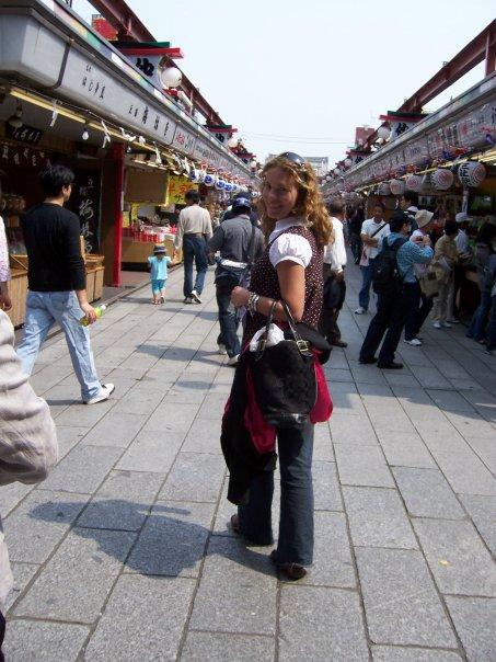 Me, at age 25...In Tokyo, Japan.