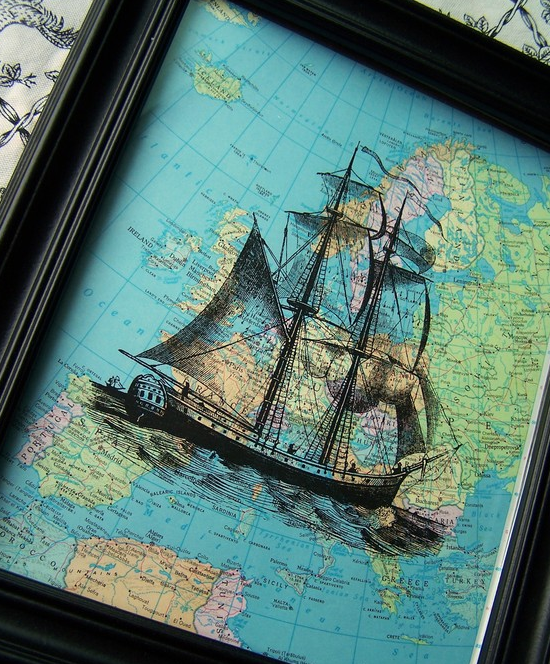 pirate ship art