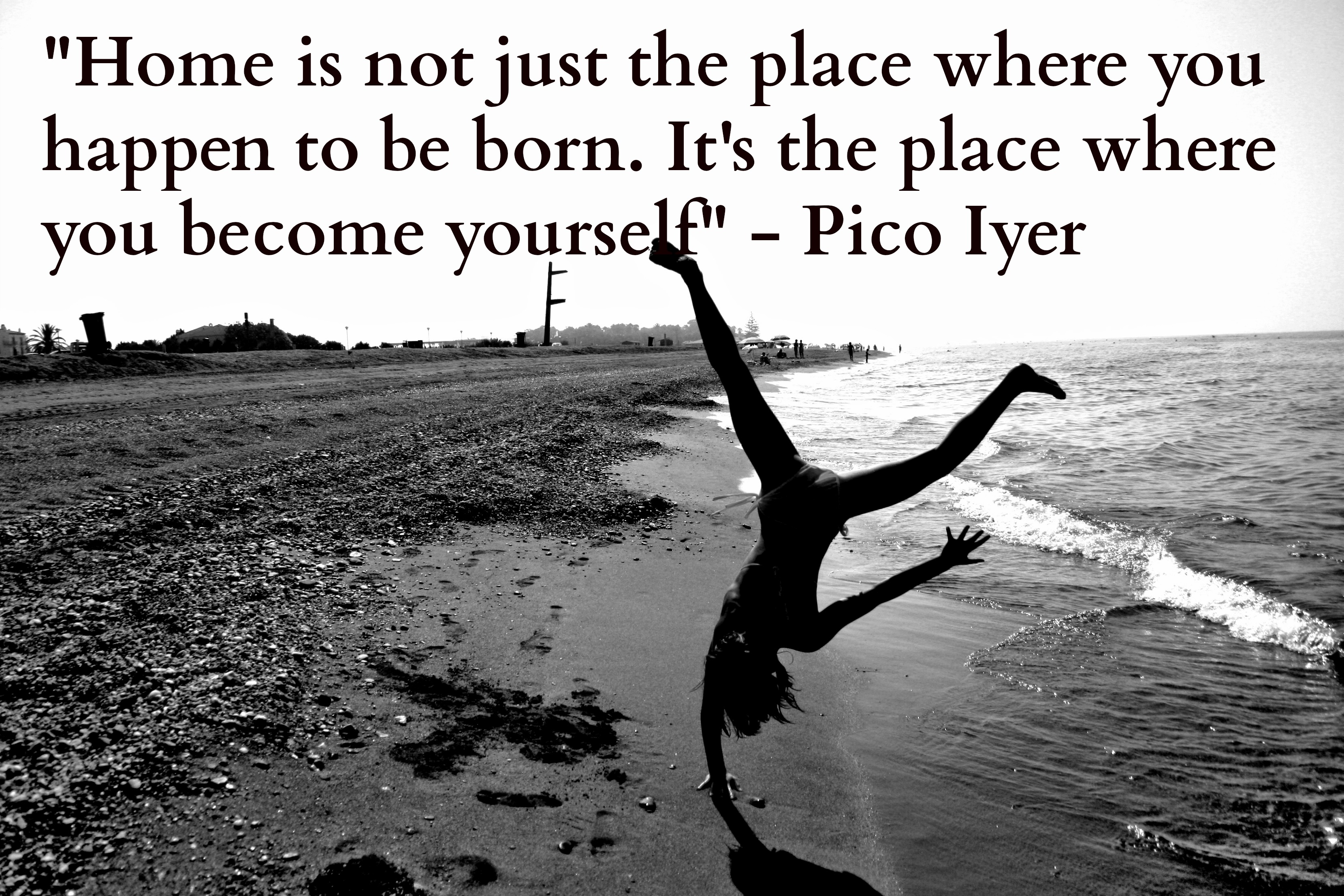 pico iyer quote home