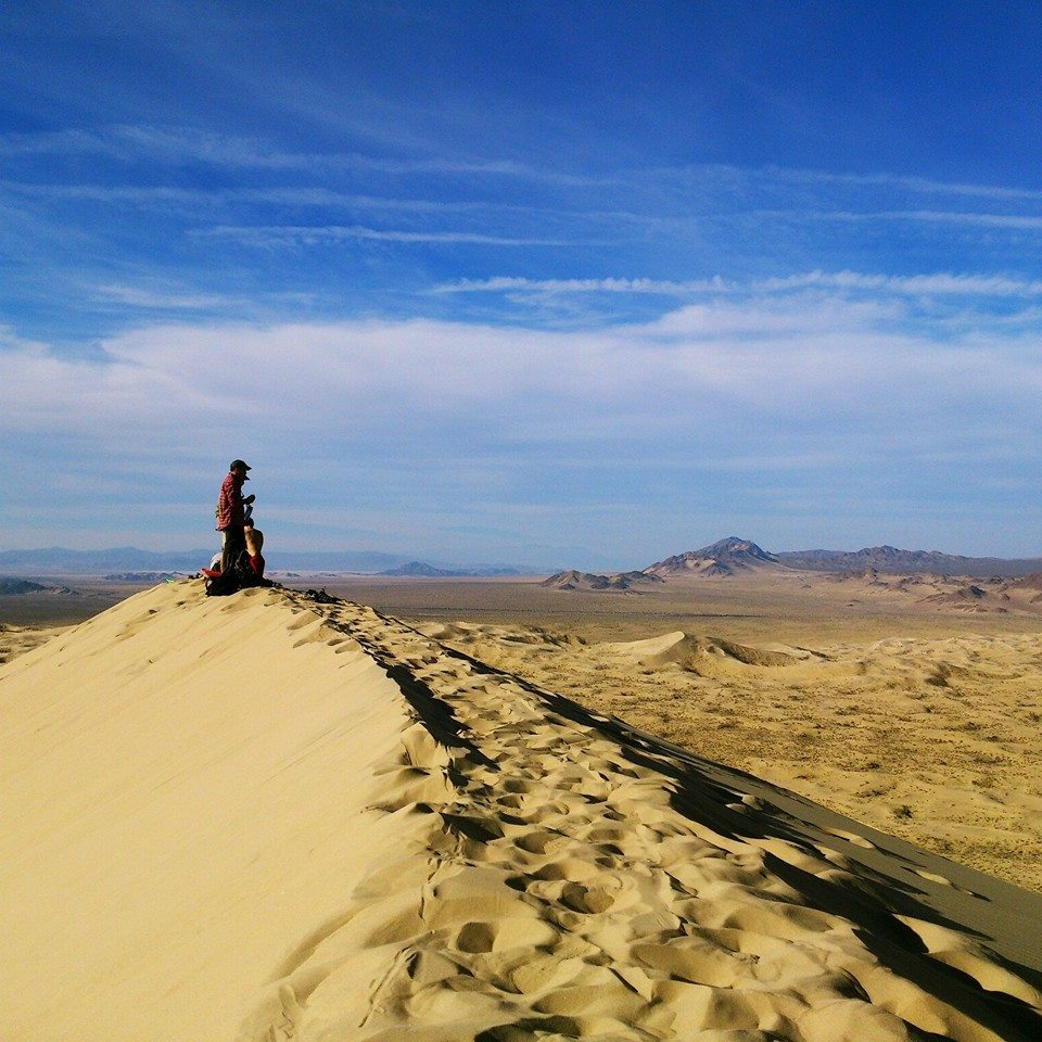 sand dune california