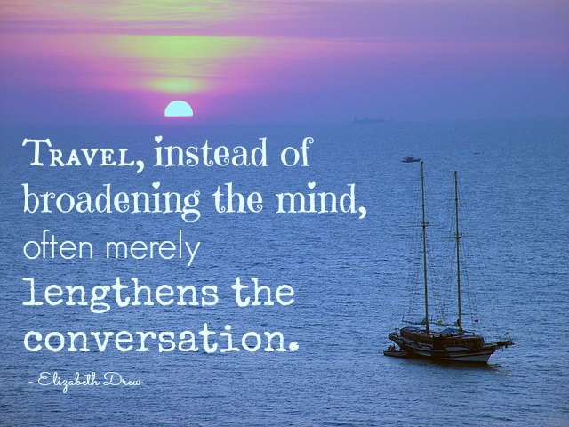 travel convo quote
