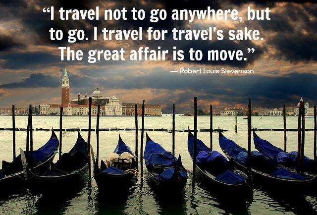 Travel for Travel's Sake