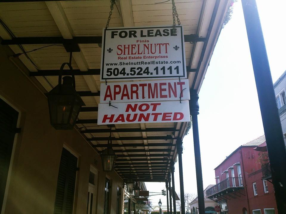 Apartment not haunted