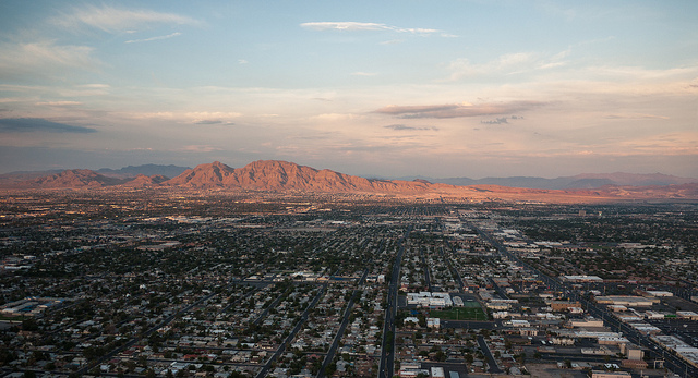 Las Vegas suburbs