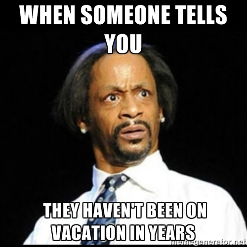 Americans Only Use Half Of Their Paid Vacation Time