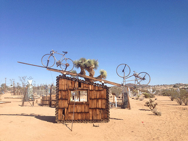 Noah Purifoy Art Sculpture