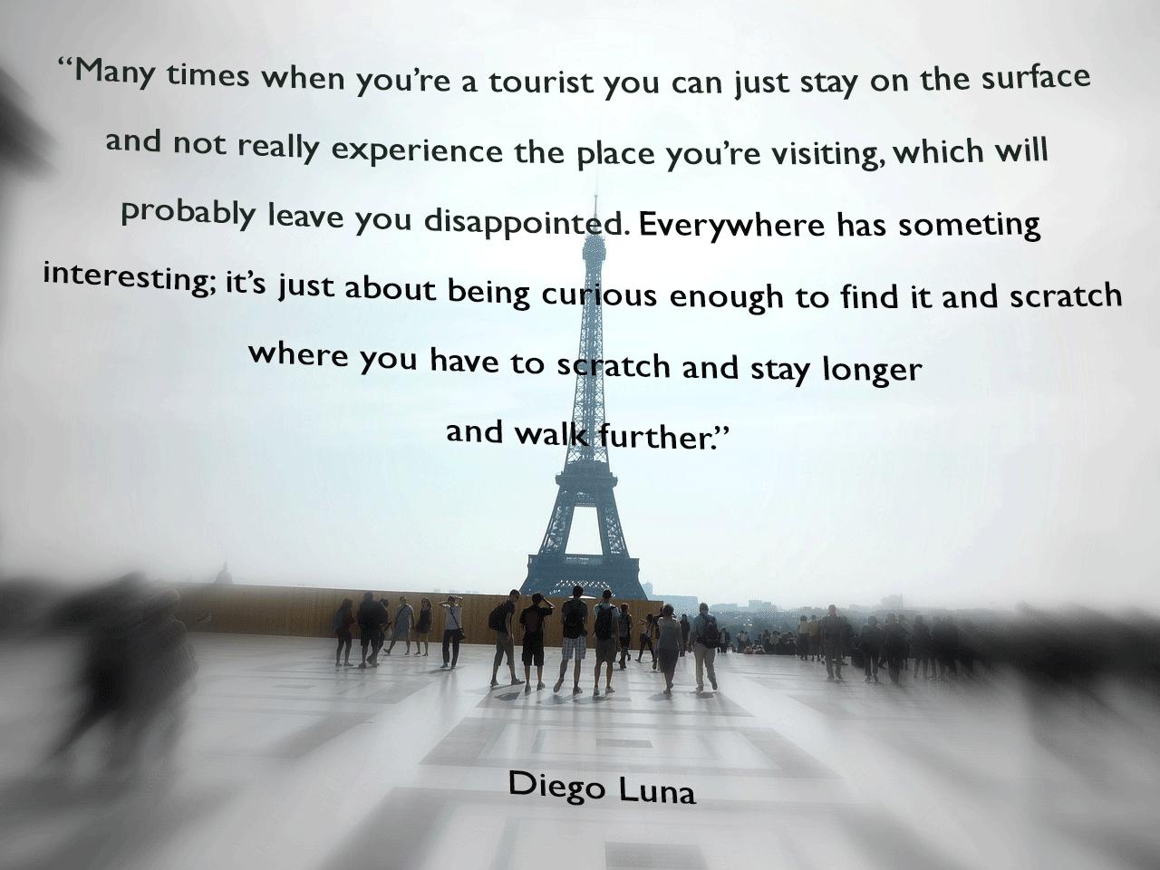 tourist quote
