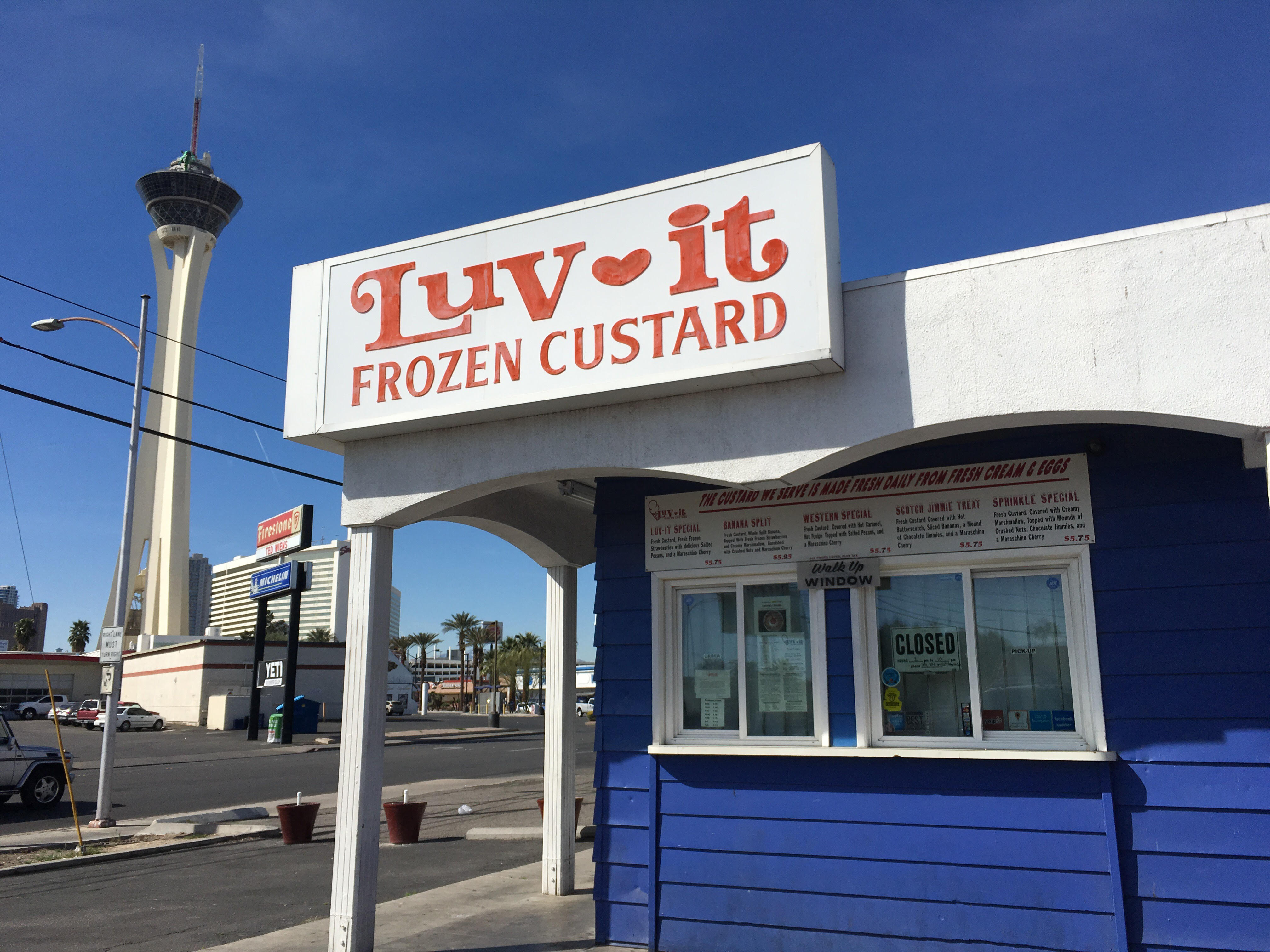 Frozen custard restaurant Las Vegas