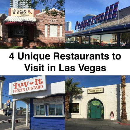 Unique Restaurants in Las Vegas