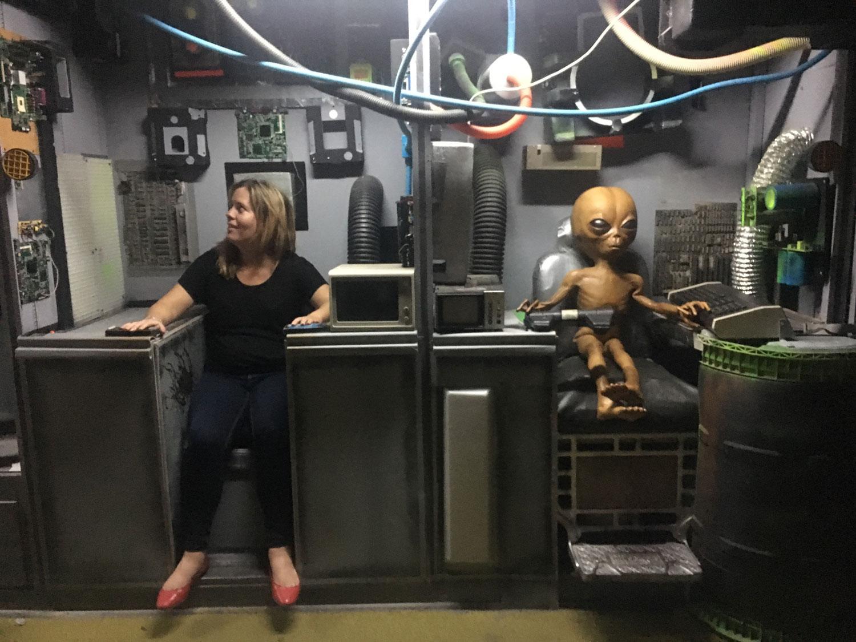 Alien Zone in Roswell